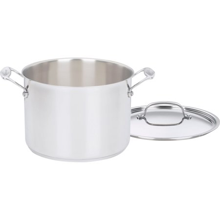 Chef's Classic Stainless Steel 8-Quart Stockpot