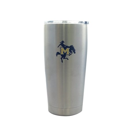 Boelter Brands 8886055390-F McNeese State Cowboys Travel Tumbler 20 oz Ultra Flared, Silver