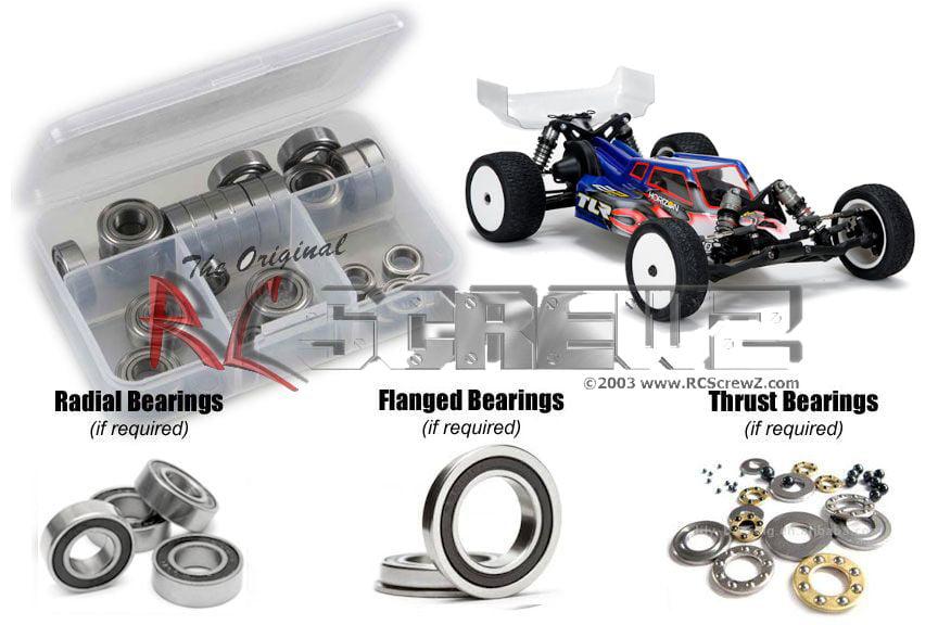 Team Losi RC CAR Micro-t Bearing set Quality RC Ball Bearings