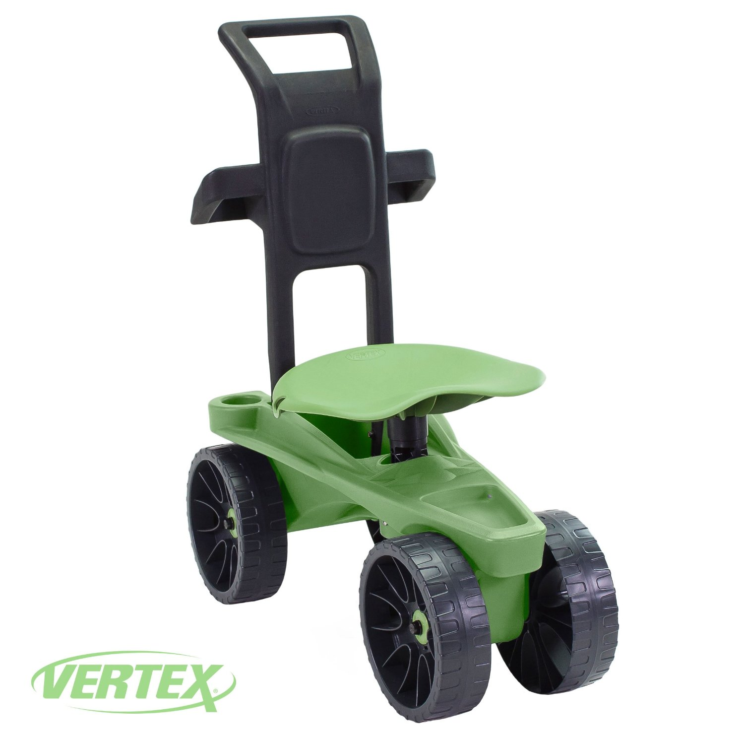 Deluxe XTV Rolling Seat & Scoot By Vertex with height adjustable swivel seat, Easy-UP push... by Vertex International, Inc.
