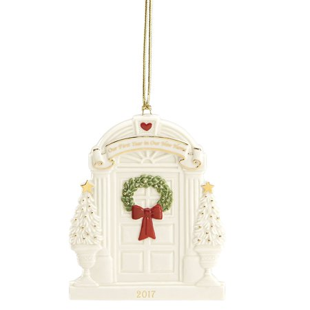 2017 Lenox Our First Year In Our New Home Porcelain Christmas Ornament