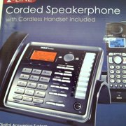 Refurbished RCA 2-Line Corded/Cordless Speakerphone and ITAD