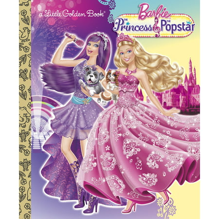 Princess and the Popstar Little Golden Book