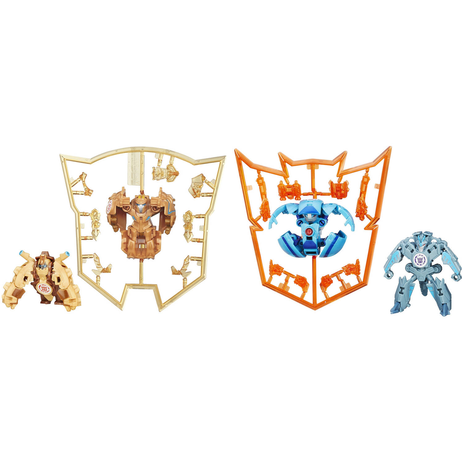 Transformers Robots in Disguise Mini-Con, 4-Pack