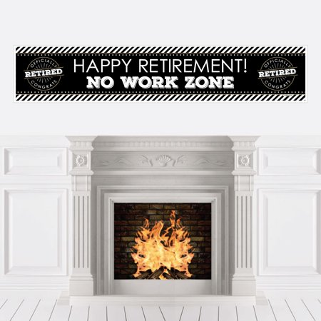 Happy Retirement - Retirement Party Decorations Party Banner