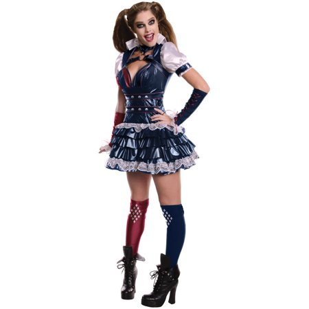 Secret Wishes Harley Quinn Women's Adult Halloween Costume](Cartoon Harley Quinn Costume)