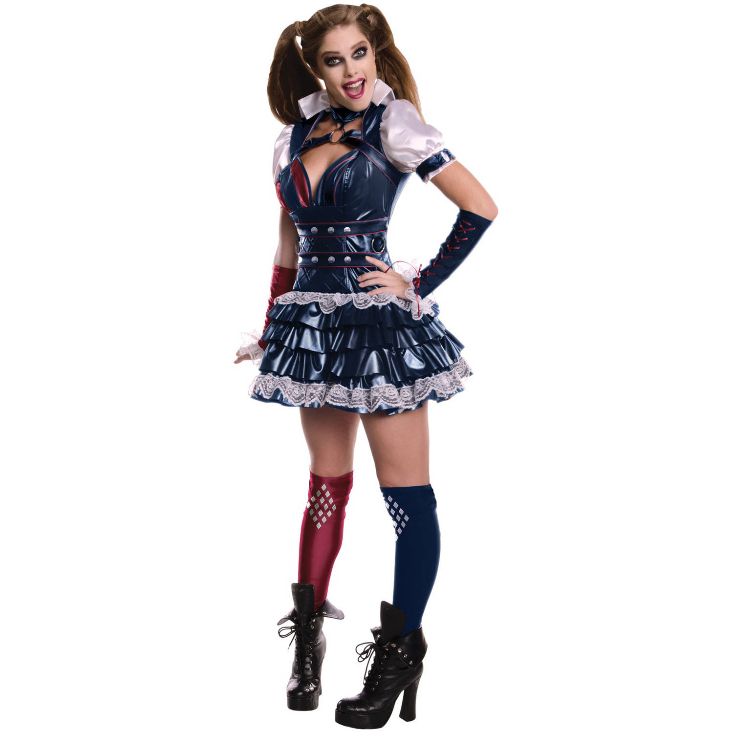 Secret Wishes Harley Quinn Women's Adult Halloween Costume