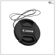 62mm Canon Center Squeeze Pinch Snap-On Lens Front Replacement Cap for Lens Care on Canon DSLR Camera by Loadstone Studio  WMLS0432