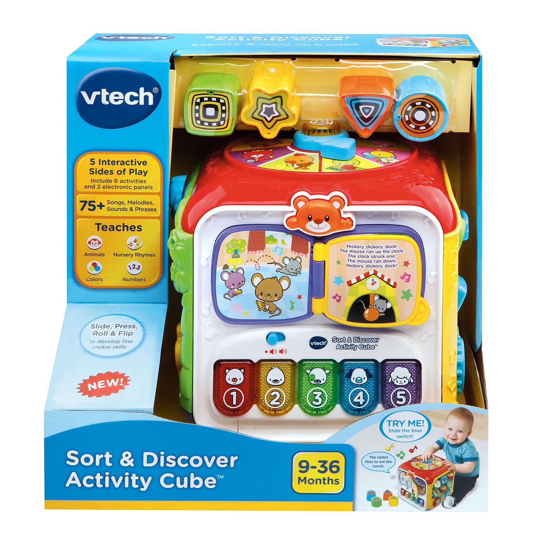 VTech Sort & Discover Activity Cube™ Walmart