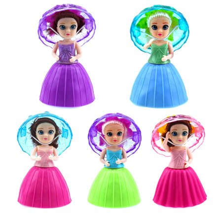Surprise Cupcake Princess Doll Deformable Dolls Girl Birthday Gift Cake Toys -