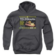 Warehouse 13 Telegraph Island Big Boys Pullover Hoodie