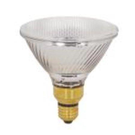 Medium Skirt Base Spot (Satco Lighting S2334-SINGLE Single 39 Watt Dimmable PAR38 Shaped Medium Skirted (E26SK) Base Halogen)