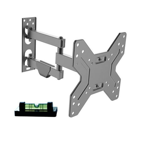 "Full Motion TV Wall Mount For 17""-42"" LED/LCD/PDP TVs up to 25KG, Fits Single Wall Wood Studs - image 1 of 5"