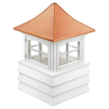 Cupola Copper Roof - Good Directions Guilford Vinyl Shiplap Cupola with Copper Roof - 18