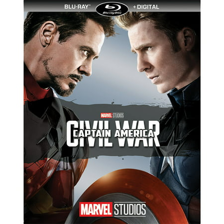 Captain America: Civil War (Blu-ray + Digital) - 1990 Captain America Movie