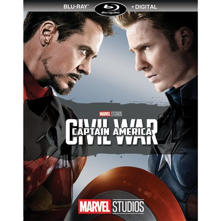 Captain America: Civil War (Blu-ray + Digital)