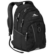 Riprap Lifestyle Backpack 15'' Padded Laptop Sleeve Black