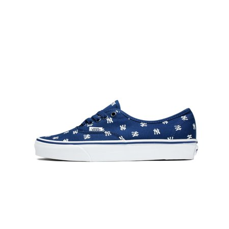 a5610a1a7f7b0d Mens Vans Authentic MLB New York Yankees Blue White Black VN0A2Z5IKU3 -  Walmart.com