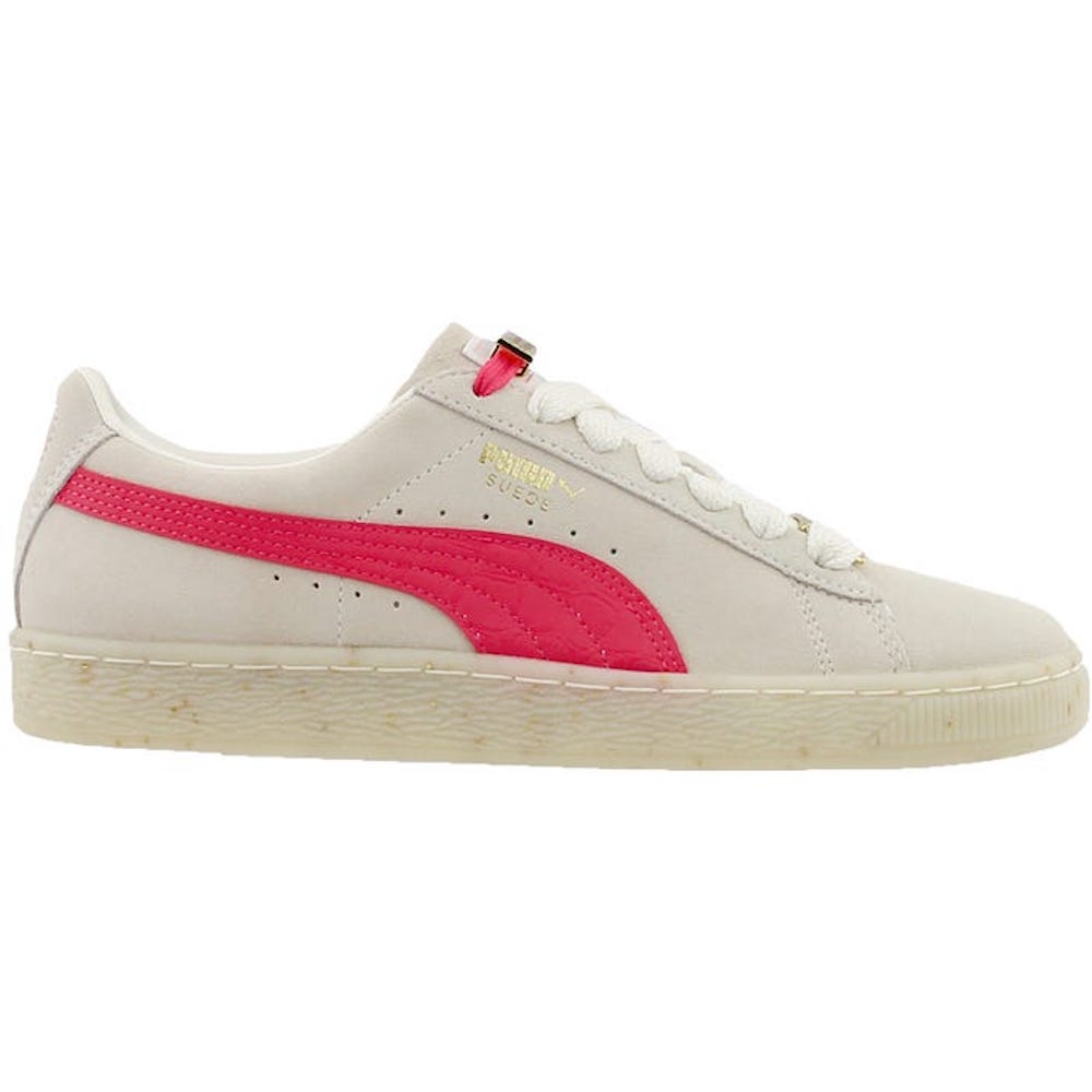 Puma Women's Suede Classic Bboy Fab Marshmallow Paradise Pink Ankle High Fashion Sneaker 10M