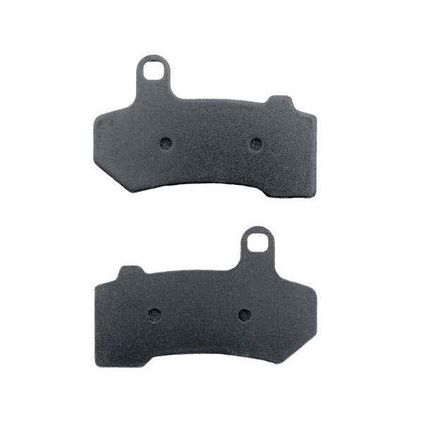 Front Rear Organic NAO Brake Pads For 2008-2009 Harley FLTR Road Glide