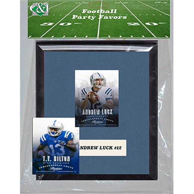 Candlcollectables 67LBCOLTS NFL Indianapolis Colts Party Favor With 6 x 7 Mat and Frame