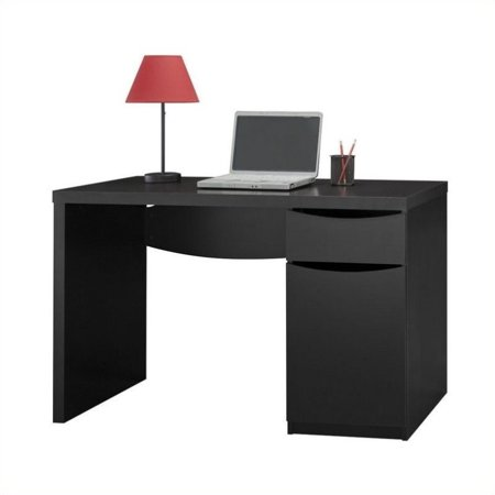 Scranton & Co Montrese Computer Desk in Classic Black - image 4 de 4