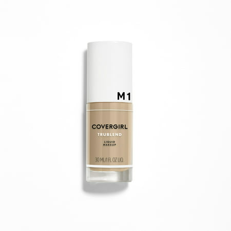 COVERGIRL TruBlend Liquid Foundation, M-1 Natural