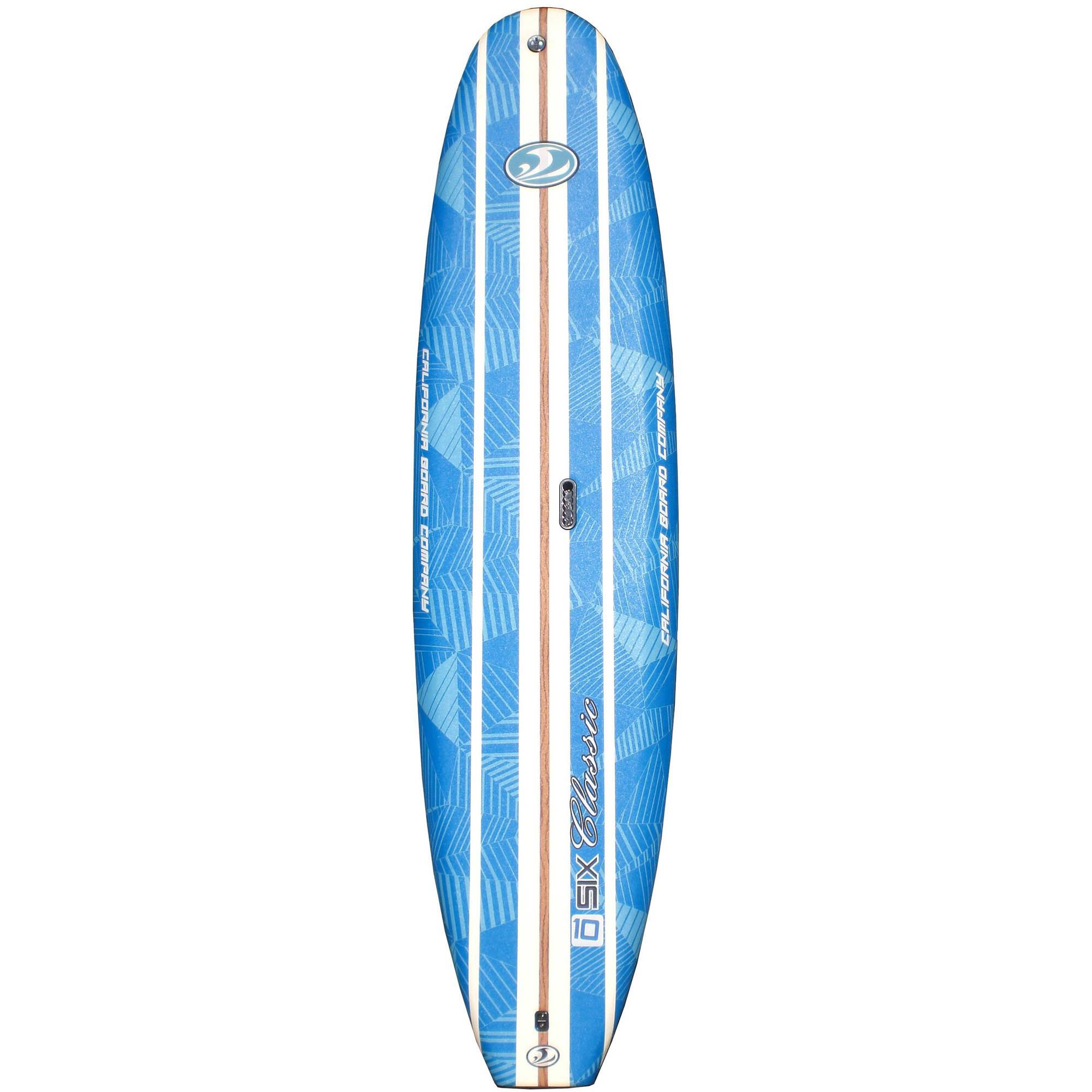"""California Board Company 10'6"""" SUP Package with Paddle, Leash, Roof Rack and Surf Leash"""