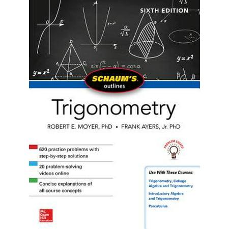Schaum's Outline of Trigonometry, Sixth Edition -