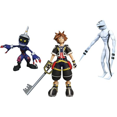 Disney Select Sora, Dusk & Soldier Action Figures