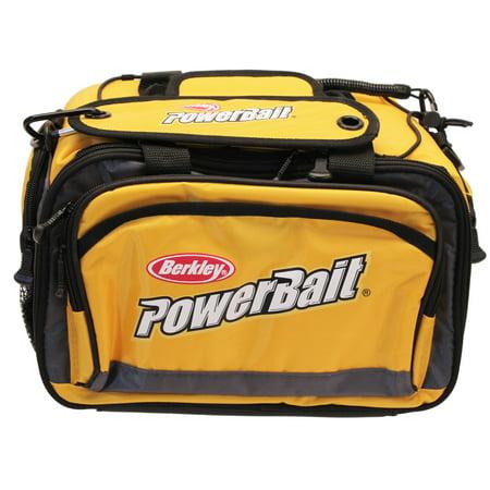 Berkley Tackle Bag Medium. Yellow (Okeechobee Fats Medium Soft Sided Tackle Bag)