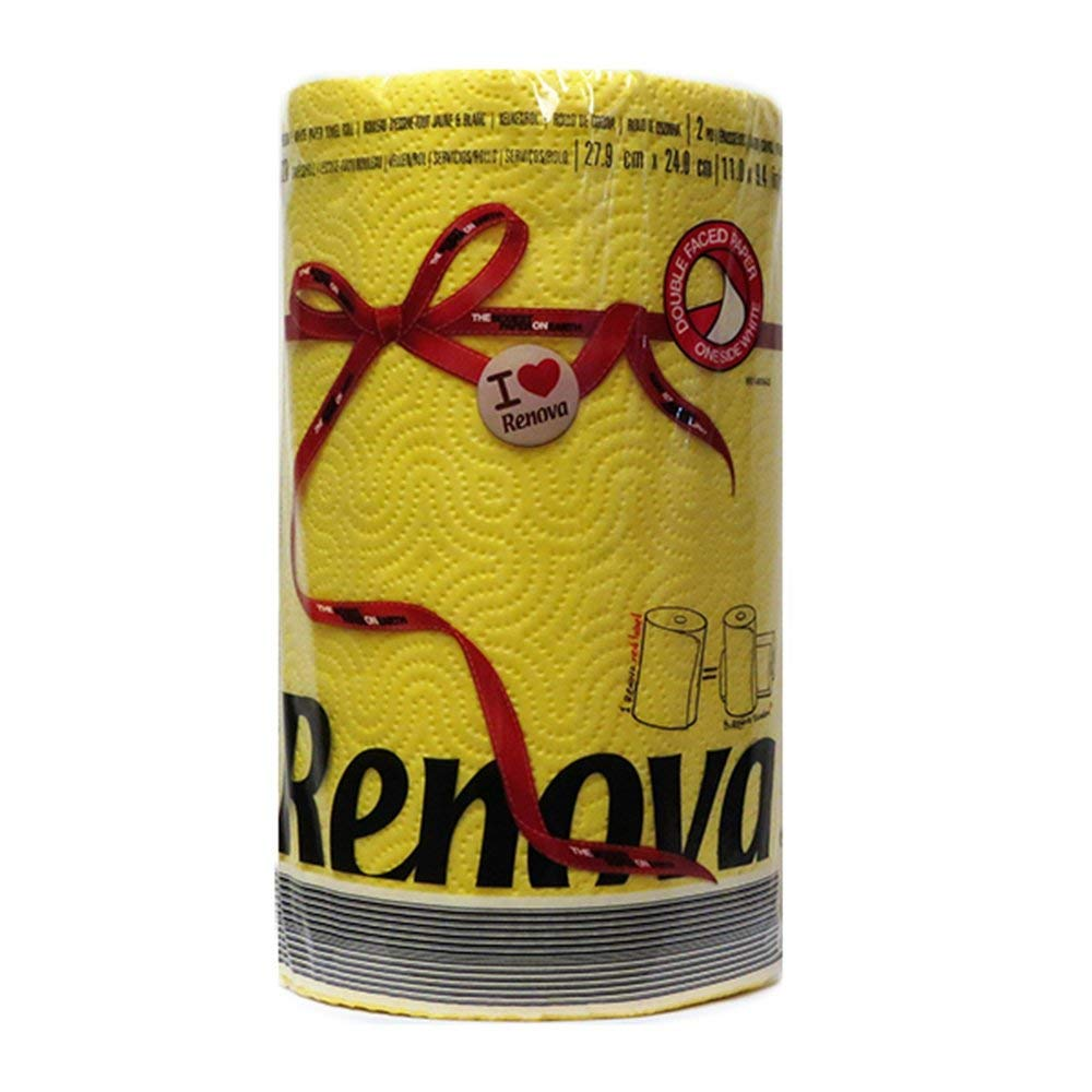 Renova Red Label Paper Towel- Yellow (120 Sheets) 020916 - image 1 de 1