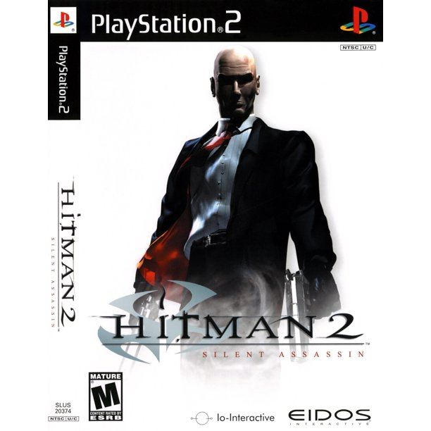 Refurbished Hitman 2 Silent Assassin For Playstation 2 Ps2