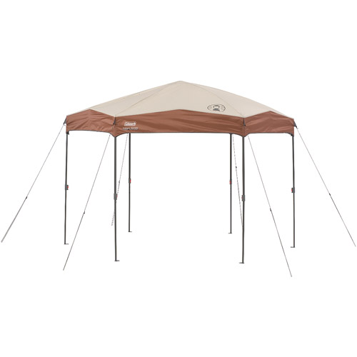 Coleman 12-by-10-foot Slant Leg Hex Instant Canopy/Gazebo (  sc 1 st  Walmart & Coleman 12-by-10-foot Slant Leg Hex Instant Canopy/Gazebo (120 sq ...