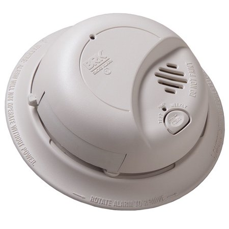 Awesome Brk 9120B6Cp Hard Wired Smoke Alarm With Battery Backup 6 Pack Wiring Cloud Hisonuggs Outletorg