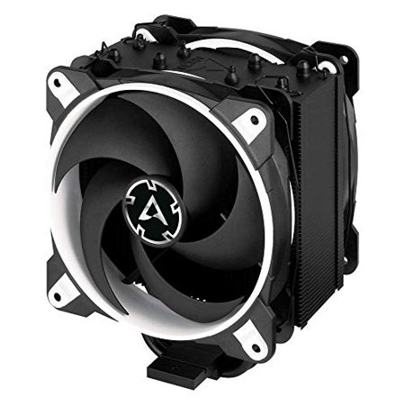 Arctic ACFRE00061A Freezer 34 eSports DUO Edition - Tower CPU Cooler with Push-Pull Configuration, Wide Range of Regulation 200 to 2100 RPM, Includes 2 Low Noise PWM 120 mm Fans – White