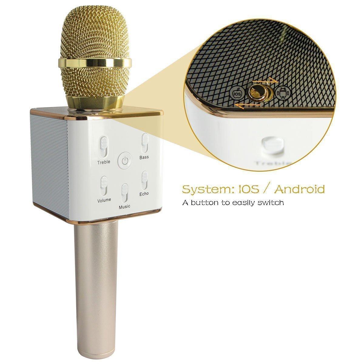 Wireless Karaoke Microphone Speaker Wire Center Pin Atx Smps Circuit Diagram Ajilbabcom Portal On Pinterest Portable W Ireless Built In B Luetooth K9 Rh Walmart Com Best