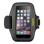Belkin Sport-Fit Carrying Case (Armband) for iPhone 6 - Blacktop, (Refurbished)