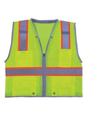 6bb9e037 Product Image CONDOR High Visibility Vest,Class 2,3XL,Lime 11K779