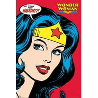 Wonder Woman - Naughty Poster Poster Print