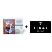 Google Home Mini (Aqua) & Frozen II Book Bundle ($5 value) + TIDAL Premium 4-Month Free Trial