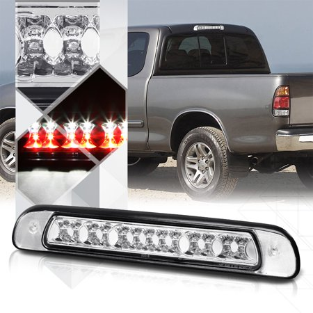 03 Toyota Tundra Led (Clear Rear LED Third [3rd] Brake Light Cargo Functioned for 00-06 Toyota Tundra 01 02 03 04)