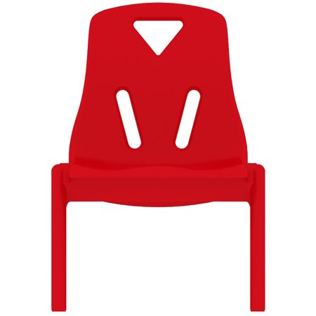 Strange 2Xhome Red 10 Seat Height Modern Kids Plastic Stacking School Chairs Activity Forskolin Free Trial Chair Design Images Forskolin Free Trialorg