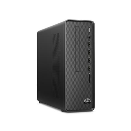 2020 HP Slim Premium Business Desktop Computer AMD Athlon Gold 3150U (Max Boost Clock Up to 3.3GHz) 16GB DDR4 256GB SSD + 1TB HDD AMD Radeon Graphics SuperSpeed USB-A DVD-RW Wifi5 Bluetooth VGA Win10