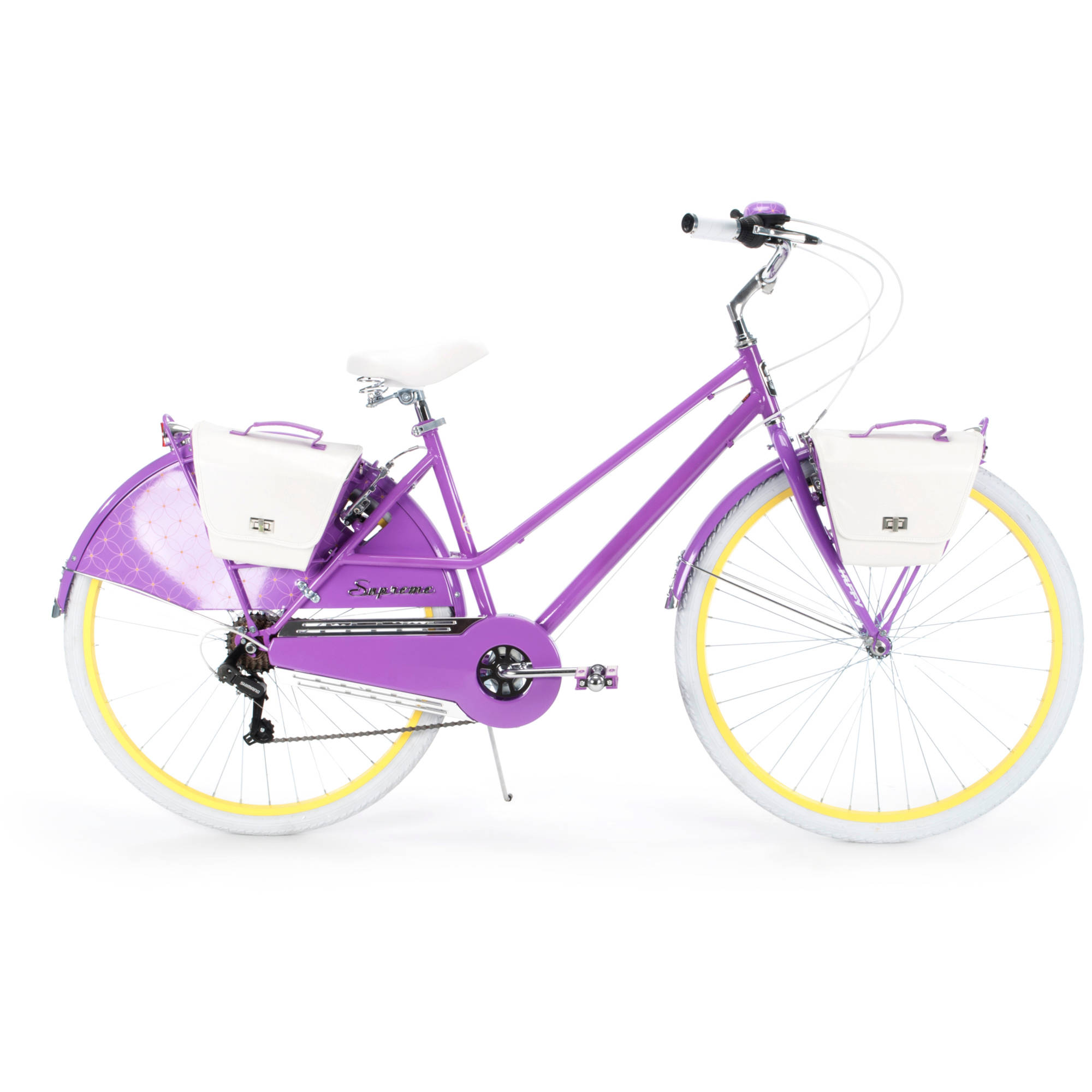 700c Huffy Supreme Women's Cruiser Bike, Purple