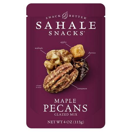 - Sahale Snacks Maple Pecans Glazed Mix 4 oz Bags - Pack of 6