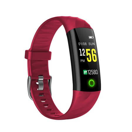 Smart Bracelet IP67 Waterproof Swim Fitness Health Monitor Heart Rate Blood Pressure Blood Oxygen Step Calorie Counter Wristband - image 6 of 7