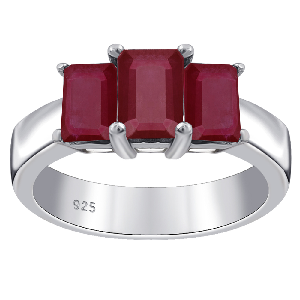 925 Sterling Silver Zircon Stone Engraved Women Ring Dainty Ring Gift for her Sterling Silver Sapphire Ring with Ruby Black Stone