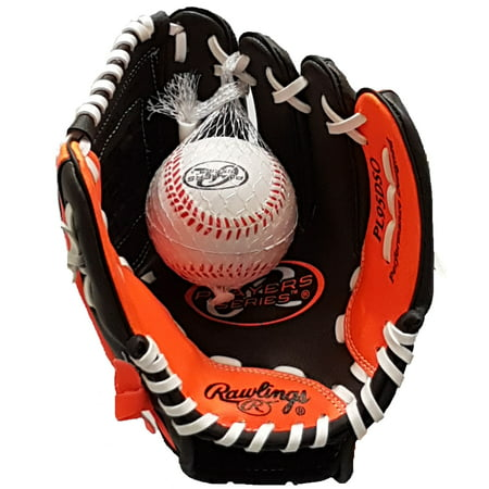 "Rawlings 9.5"" Players Series T-Ball Glove, Right Hand Throw"