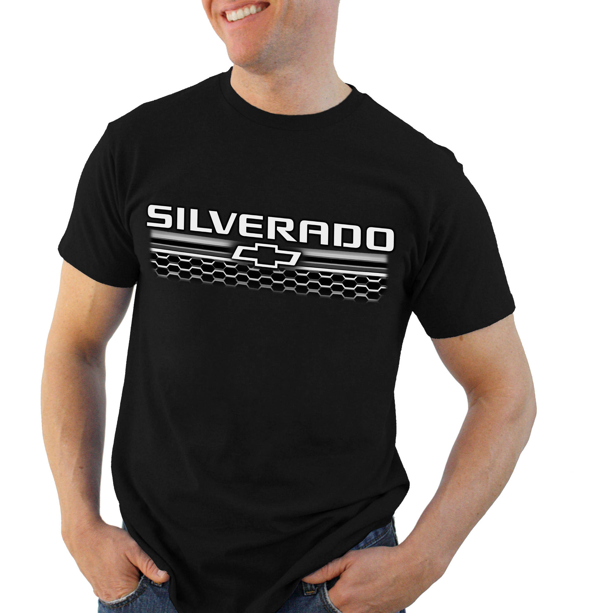 Silver Grill Big Men's Graphic Short Sleeve Tee